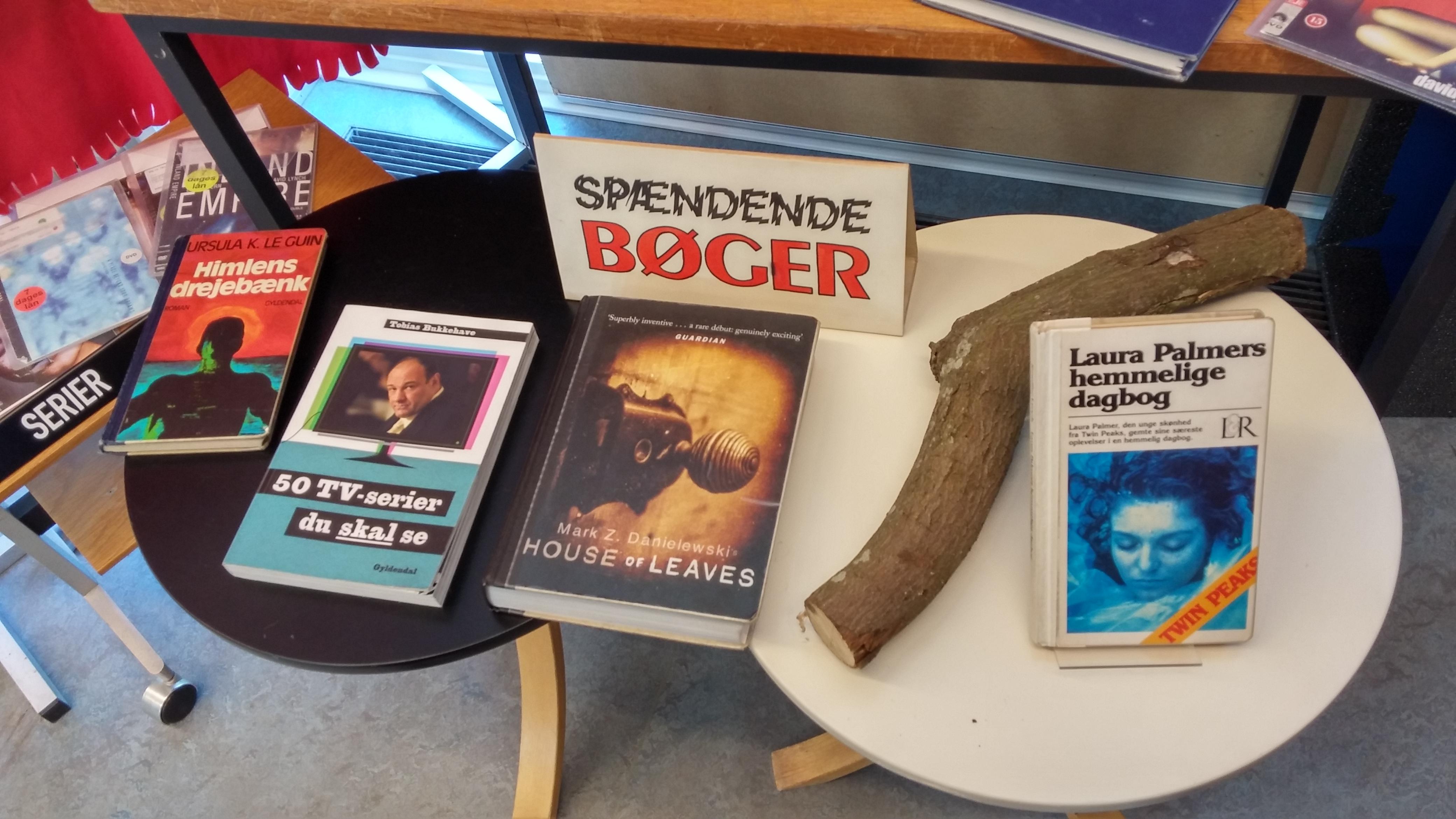 Twin Peaks på Risskov Bibliotek