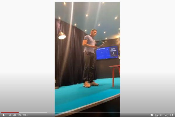 Indgangsbillede til Youtubefilm og Yahya Hassans oplæsning