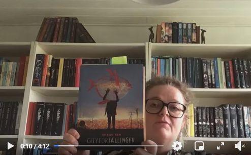 Link til Facebook hvor børnebibliotekar Jette fortæller om bogen Cityfortællinger