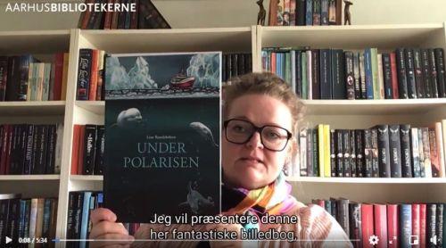Link til Facebook, hvor børnebibliotekar Jette fortæller om bogen Under polarisen