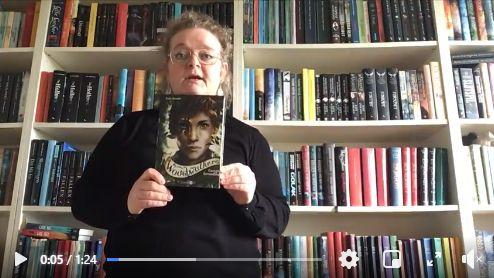 Link til Facebook hvor børnebibliotekar Jette fortæller om bogen Woodwalkers