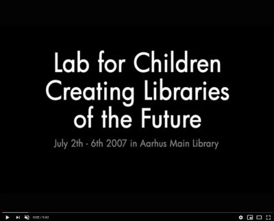 Link til YouTube-film Lab for Children - creating libraries of the future