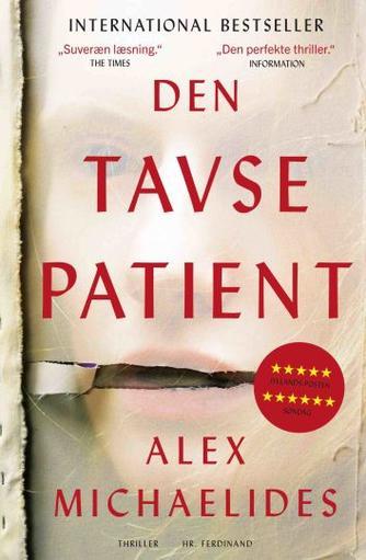 Alex Michaelides (f. 1977): Den tavse patient