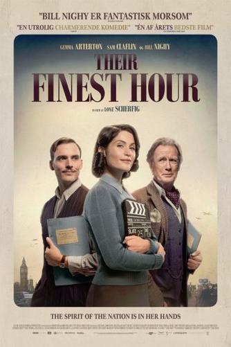 Lone Scherfig, Sebastian Blenkov, Gaby Chiappe: Their finest hour