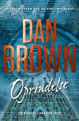 Dan Brown: Oprindelse : roman