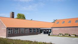 Billede af Risskov Biblioteks bygning