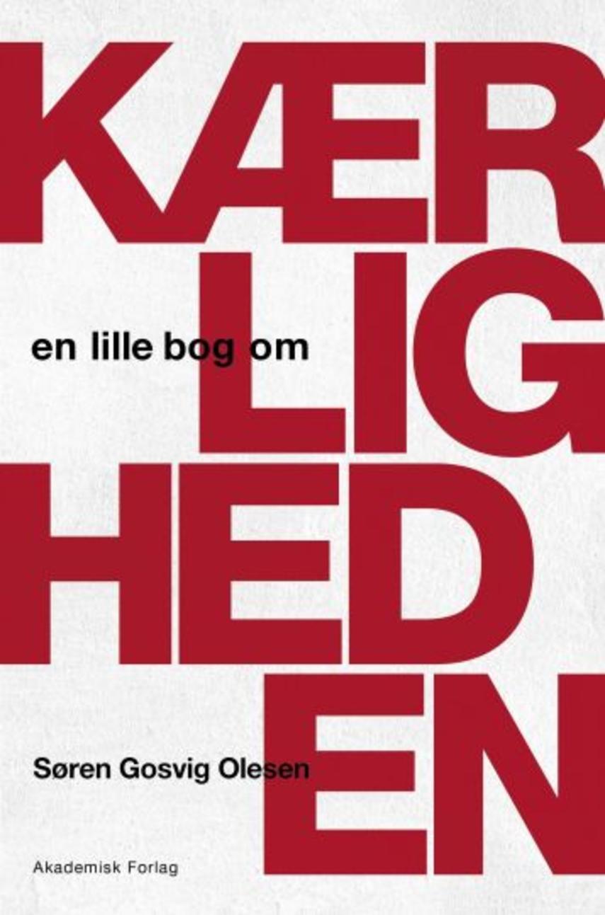 Søren Gosvig Olesen: En lille bog om kærligheden