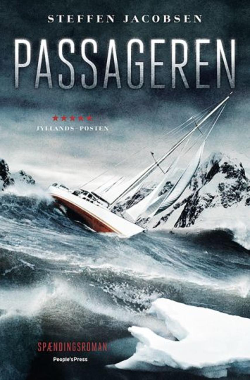 Steffen Jacobsen (f. 1956): Passageren : spændingsroman