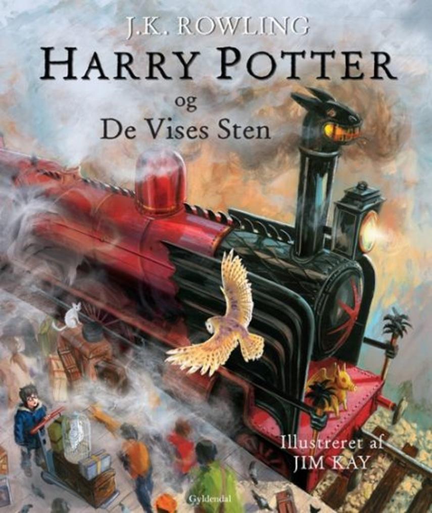 Joanne K. Rowling: Harry Potter og de vises sten (ill. Jim Kay)