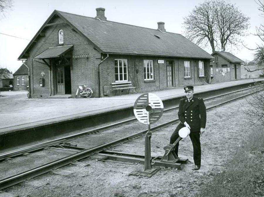 Billede af Beder station