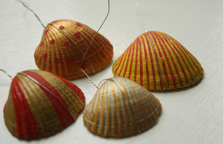 Muslinger med farve