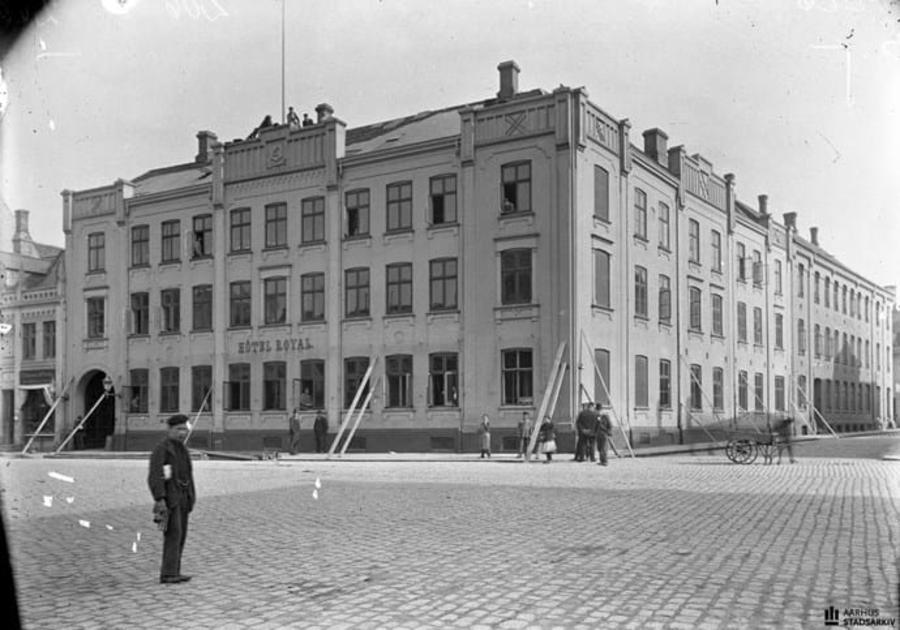 Billede af Hotel Royal ca. 1901