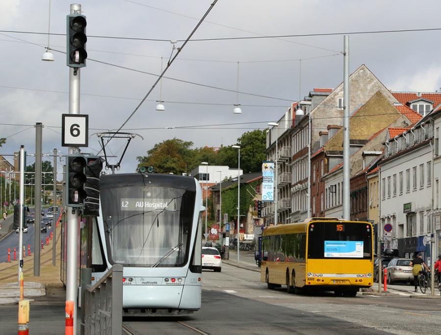 Billede af offentlig transport i Aarhus