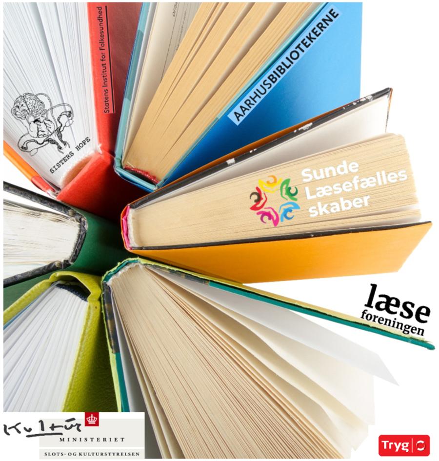 Bøger til illustration og navne på samarbejdspartnere