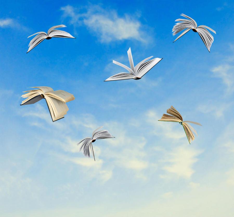 Flyvende bøger