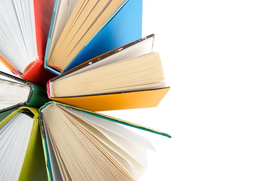 Bøger i strålende farver