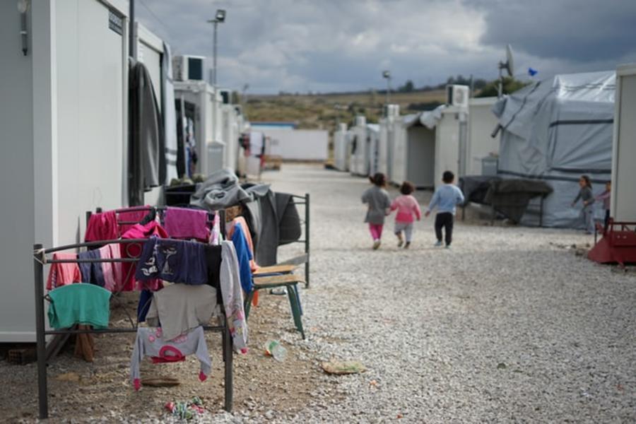 Børn i flygtningelejer