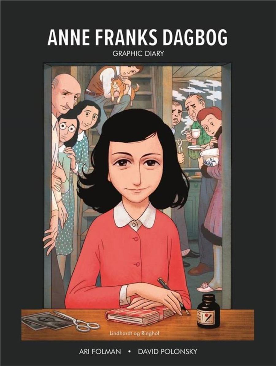 Tegning af Anne Frank