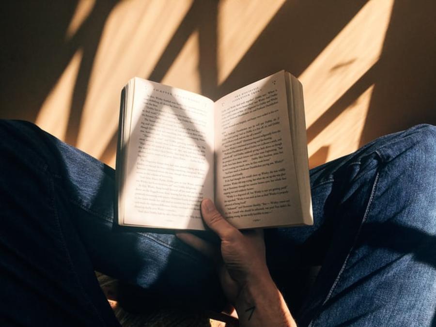En opslået bog