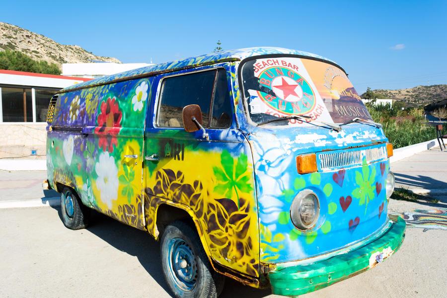 Farvestrående bil