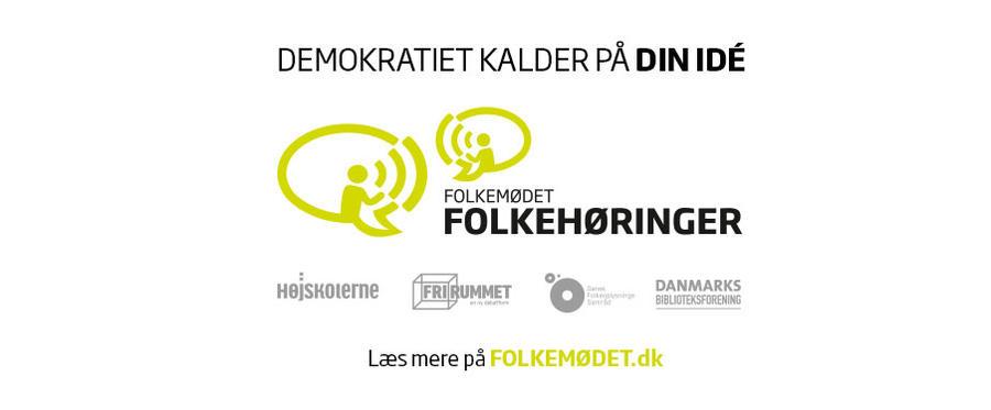 Demokratiet kalder på din ide. Læs mere på folkemødet.dk